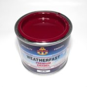 WEATHERFAST PORT WINE PREMIUM MARINE 100ML ULTRA HIGH GLOSS ENAMEL
