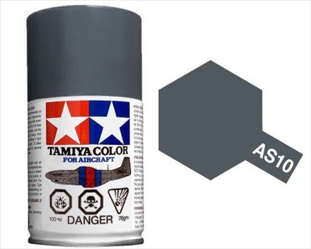 TAMIYA AS10 OCEAN GRAY ACRYLIC SPRAY PAINT 100ml (Aircraft)