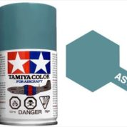 TAMIYA AS19 INTERMEDIATE BLUE ACRYLIC SPRAY PAINT 100ml (Aircraft)