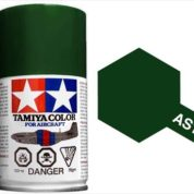TAMIYA AS1 DARK GREEN ACRYLIC SPRAY PAINT 100ml (Aircraft)
