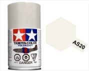 TAMIYA AS20 INSIG WHITE USNAV ACRYLIC SPRAY PAINT 100ml (Aircraft)