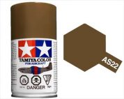 TAMIYA AS22 DARK EARTH ACRYLIC SPRAY PAINT 100ml (Aircraft)
