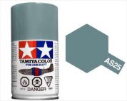 TAMIYA AS25 DARK GHOST GREY ACRYLIC SPRAY PAINT 100ml (Aircraft)