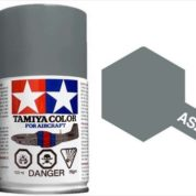 TAMIYA AS28 MEDIUM GRAY ACRYLIC SPRAY PAINT 100ml (Aircraft)