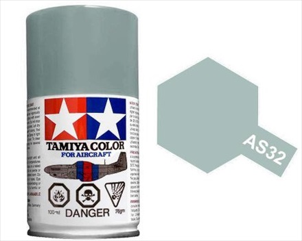 TAMIYA AS32 MEDIUM SEA GRAY 2 ACRYLIC SPRAY PAINT 100ml (Aircraft)