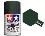 TAMIYA AS3 GRAY GREEN ACRYLIC SPRAY PAINT 100ml (Aircraft)