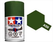 TAMIYA AS9 DARK GREEN ACRYLIC SPRAY PAINT 100ml (Aircraft)