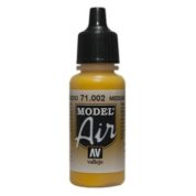 VALLEJO MODEL AIR ACRYLIC PAINT YELLOW 71002