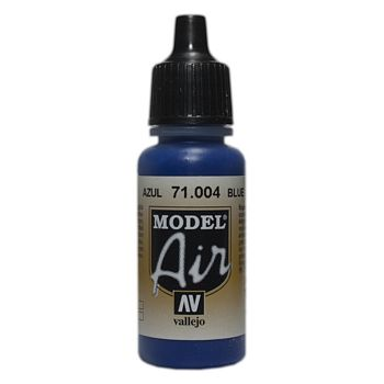 VALLEJO MODEL AIR ACRYLIC PAINT BLUE 71004