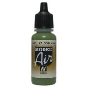 VALLEJO MODEL AIR ACRYLIC PAINT CAMO L/GREEN 71006
