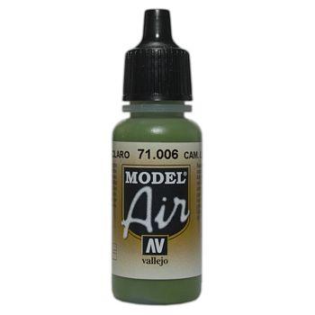 VALLEJO MODEL AIR ACRYLIC PAINT CAMO L/GREEN 71006