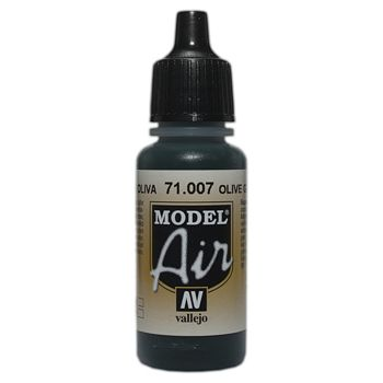 VALLEJO MODEL AIR ACRYLIC PAINT OLIVE GREEN 71007