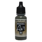 VALLEJO MODEL AIR ACRYLIC PAINT TANK GREEN 71011