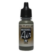 VALLEJO MODEL AIR ACRYLIC PAINT DARK GREEN 71012