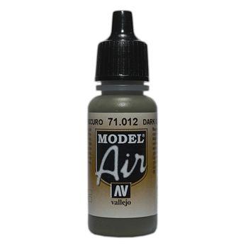 VALLEJO MODEL AIR ACRYLIC PAINT DARK GREEN 71012