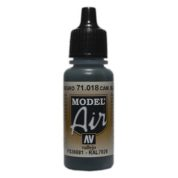 VALLEJO MODEL AIR ACRYLIC PAINT CAMO BLK/GREEN 71018