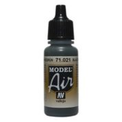 VALLEJO MODEL AIR ACRYLIC PAINT BLACK GREEN 71021