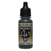 VALLEJO MODEL AIR ACRYLIC PAINT CAMO GREEN 71022