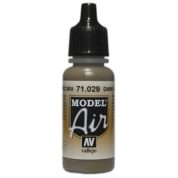 VALLEJO MODEL AIR ACRYLIC PAINT DARK EARTH 71029