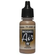 VALLEJO MODEL AIR ACRYLIC PAINT GREEN BROWN 71030