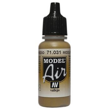 VALLEJO MODEL AIR ACRYLIC PAINT MIDDLE STONE 71031