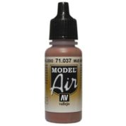 VALLEJO MODEL AIR ACRYLIC PAINT MUD BROWN 71037