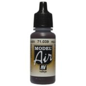 VALLEJO MODEL AIR ACRYLIC PAINT HULL RED 71039