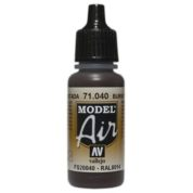 VALLEJO MODEL AIR ACRYLIC PAINT BURNT UMBER 71040