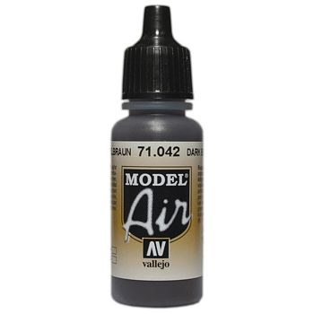 VALLEJO MODEL AIR ACRYLIC PAINT CAMO BLK/BROWN 71042