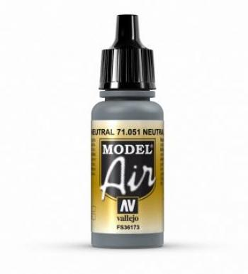 VALLEJO MODEL AIR ACRYLIC PAINT BARLEY GREY 71051