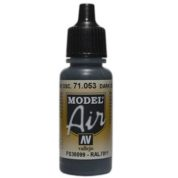 VALLEJO MODEL AIR ACRYLIC PAINT DARK SEAGREEN 71053