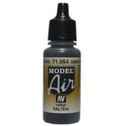 VALLEJO MODEL AIR ACRYLIC PAINT DARK GREY BLUE 71054
