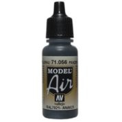 VALLEJO MODEL AIR ACRYLIC PAINT BLACK GREY 71056