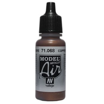 VALLEJO MODEL AIR ACRYLIC PAINT COPPER 71068