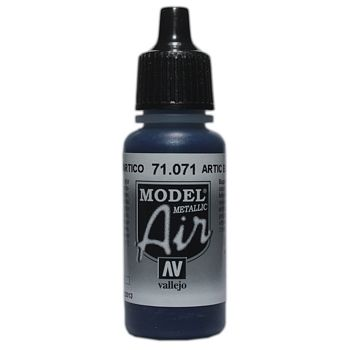 VALLEJO MODEL AIR ACRYLIC PAINT ARTIC BLUE 71071