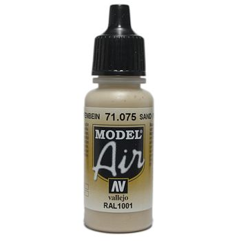 VALLEJO MODEL AIR ACRYLIC PAINT SAND 71075