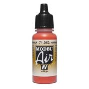 VALLEJO MODEL AIR ACRYLIC PAINT ORANGE 71083