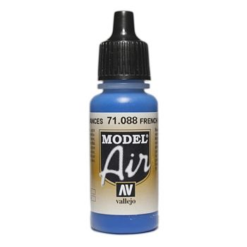 VALLEJO MODEL AIR ACRYLIC PAINT FRENCH BLUE 71088