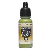 VALLEJO MODEL AIR ACRYLIC PAINT GREEN ZINC CHR 71094
