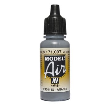 VALLEJO MODEL AIR ACRYLIC PAINT GRAY PRIMER 71097