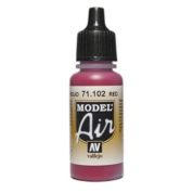 VALLEJO MODEL AIR ACRYLIC PAINT RED RLM 23 71102