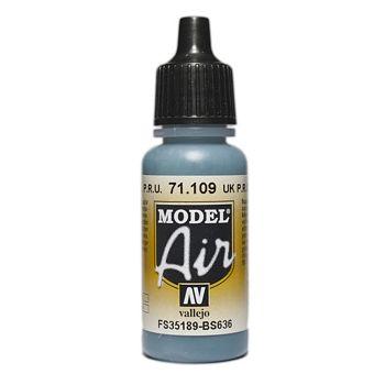 VALLEJO MODEL AIR ACRYLIC PAINT UK P.R.U BLUE 71109