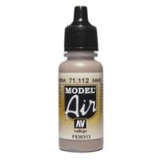 VALLEJO MODEL AIR ACRYLIC PAINT US WWII SAND 71112
