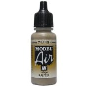 VALLEJO MODEL AIR ACRYLIC PAINT CAMO GREY 71118