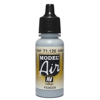 VALLEJO MODEL AIR ACRYLIC PAINT USAF MED GREY 71120
