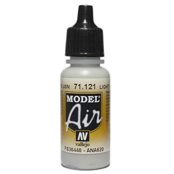 VALLEJO MODEL AIR ACRYLIC PAINT USAF LIGH GREY 71121