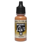 VALLEJO MODEL AIR ACRYLIC PAINT ORANGE RUST 71130
