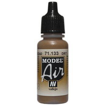 VALLEJO MODEL AIR ACRYLIC PAINT DIRT 71133