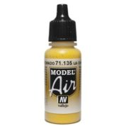 VALLEJO MODEL AIR ACRYLIC PAINT CHROME YELLOW 71135