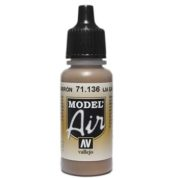 VALLEJO MODEL AIR ACRYLIC PAINT EARTH BROWN 71136